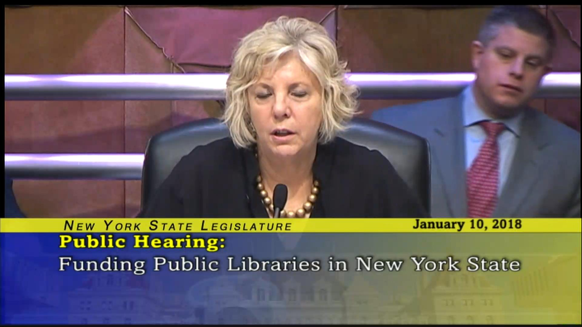 Funding for Libraries