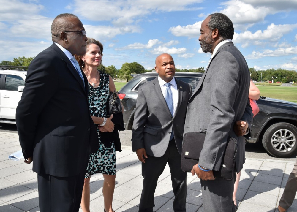 As part of Assembly Speaker Carl Heastie's Upstate tour in August 2015, the Speaker joined both Assemblywoman Fahy and Assemblymember McDonald in a joint tour of the 108th and 109th districts