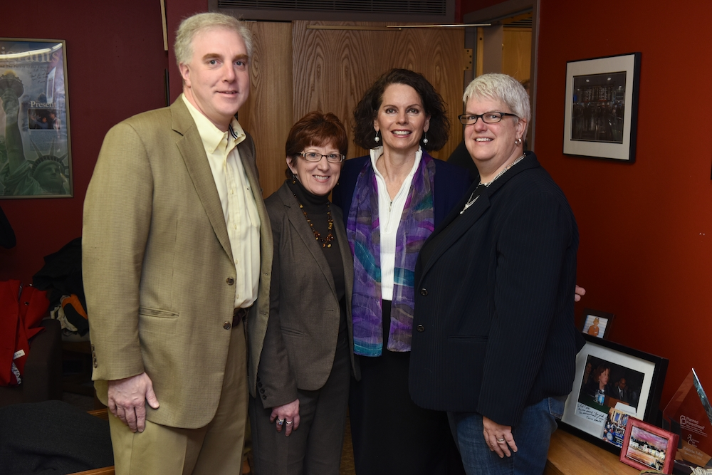 Assemblymember Fahy has hosted an annual open house for constituents from the 109th district to visit what serves as both her district and legislative office. 2015's open house brought together Albany