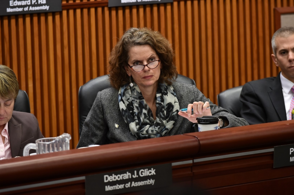 Assemblymember Fahy listens to testimony from New York State Education Commissioner MaryEllen Elia during the January 2016 Budget Hearing for Elementary & Secondary Education.