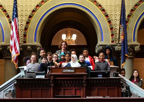 Jan 17, 2020: 4th Graders from Pine Hills & Giffen School Visit the Chamber