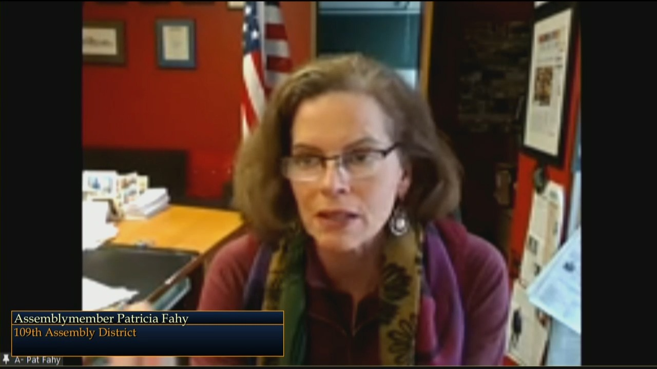Fahy Questions Commissioner Kulleseid