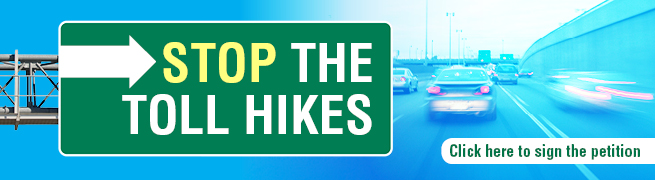 Stop the Toll Hikes