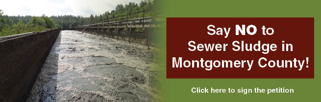 Say NO to the proposed sewage treatment plant in Montgomery County