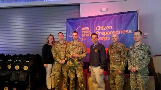 Citizens Preparedness Training at the ViaPort Mall in Rotterdam with the New York National Guard. Great to see more than 250 in attendance tonight! 5/12/17<br />