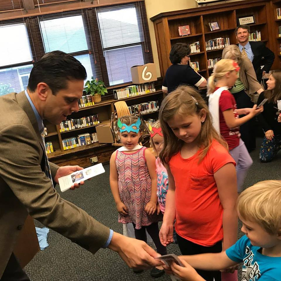 Assemblyman Santabarbara kicks-off his Summer Reading at the Amsterdam Free Library today, July 24<sup>th</sup>, 2017!<br /><br />