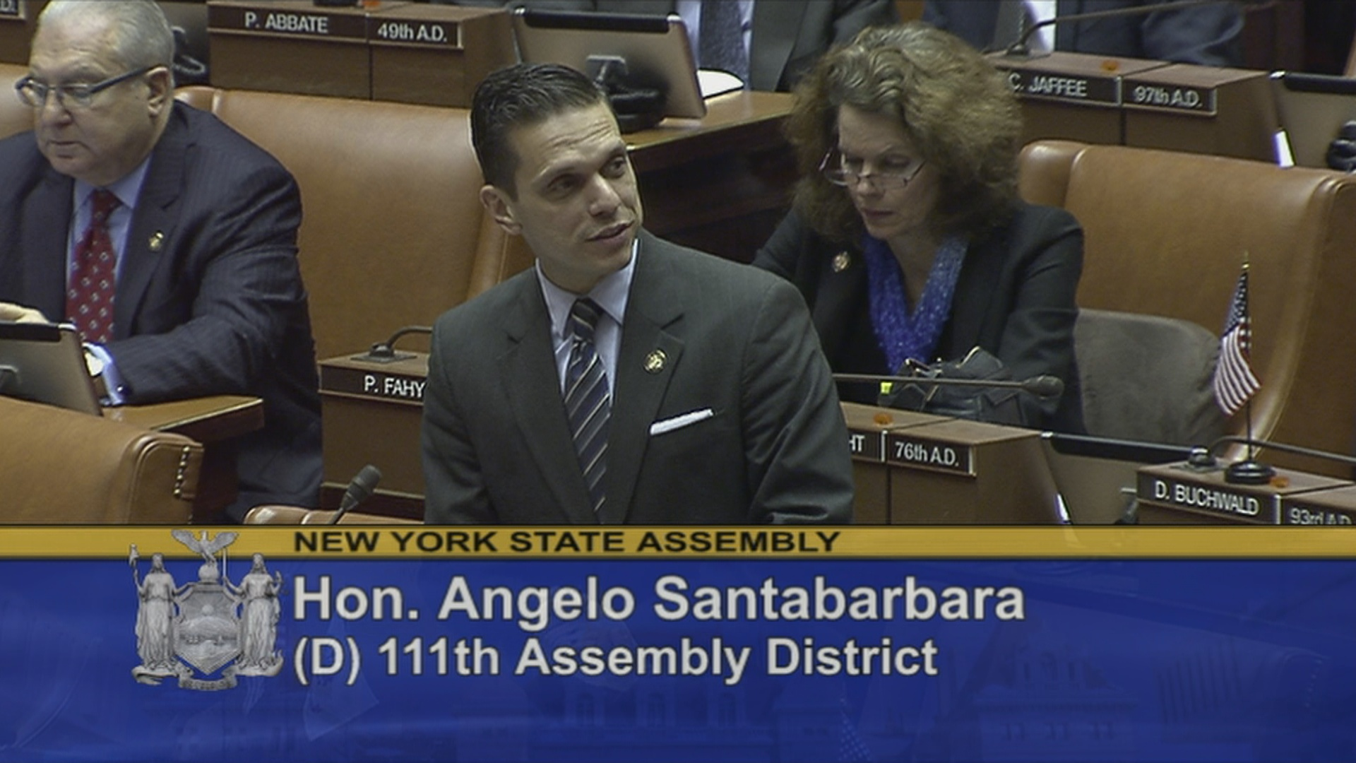 Assemblyman Santabarbara Welcomes Distinguished Guests to the Assembly