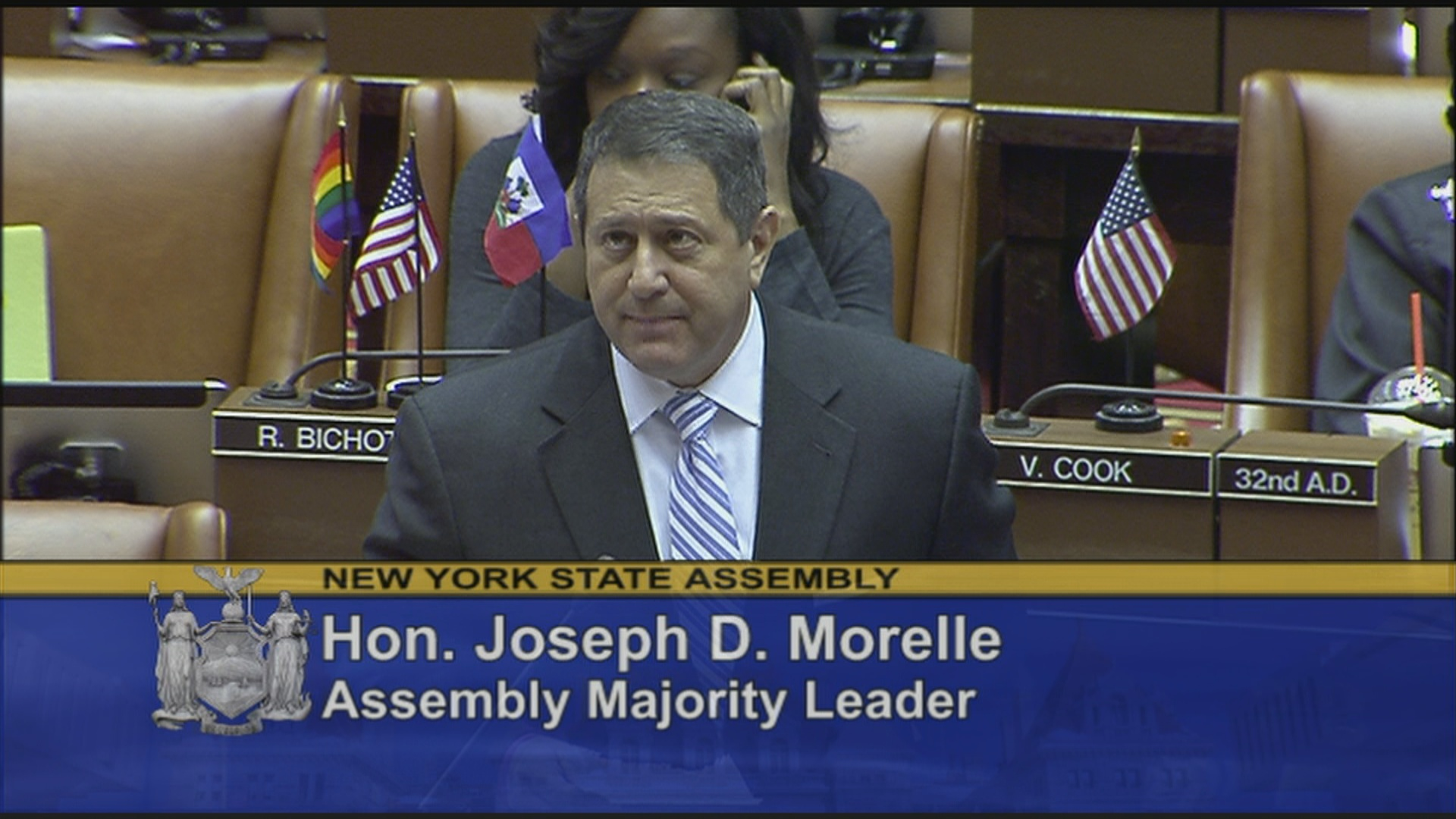 Majority Leader Morelle Welcomes Students From Mohonasen High School On Behalf Of Assemblymember