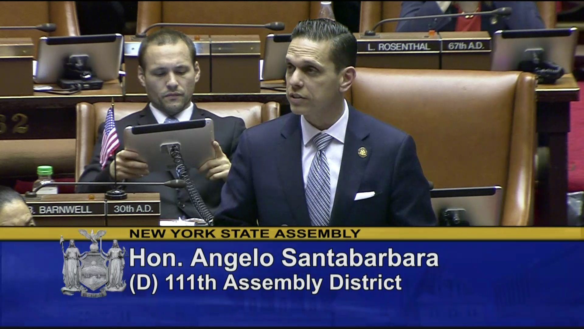 Santabarbara Speaks on Continued Investments in Infrastructure