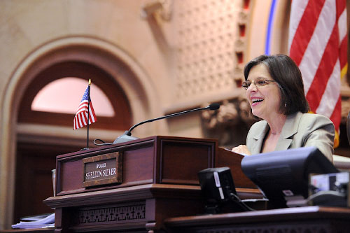 May 9, 2011 � Assemblywoman Lupardo presiding over the Assembly session.