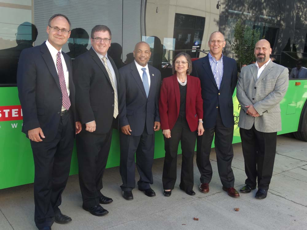 July 30, 2015 – Assembly Speaker Carl Heastie and Assemblywoman Lupardo tour BAE Systems in Endicott.