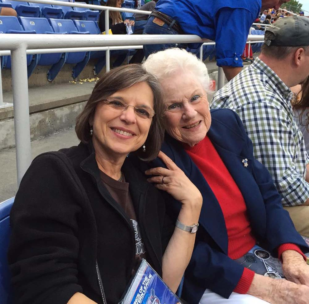 August 26, 2015 – Assemblywoman Lupardo attends the Binghamton Mets game with Sandy Scanlon, granddaughter of George F. Johnson, as the team honors GFJ's legacy. Johnson, the owner of Endicott-Johnson