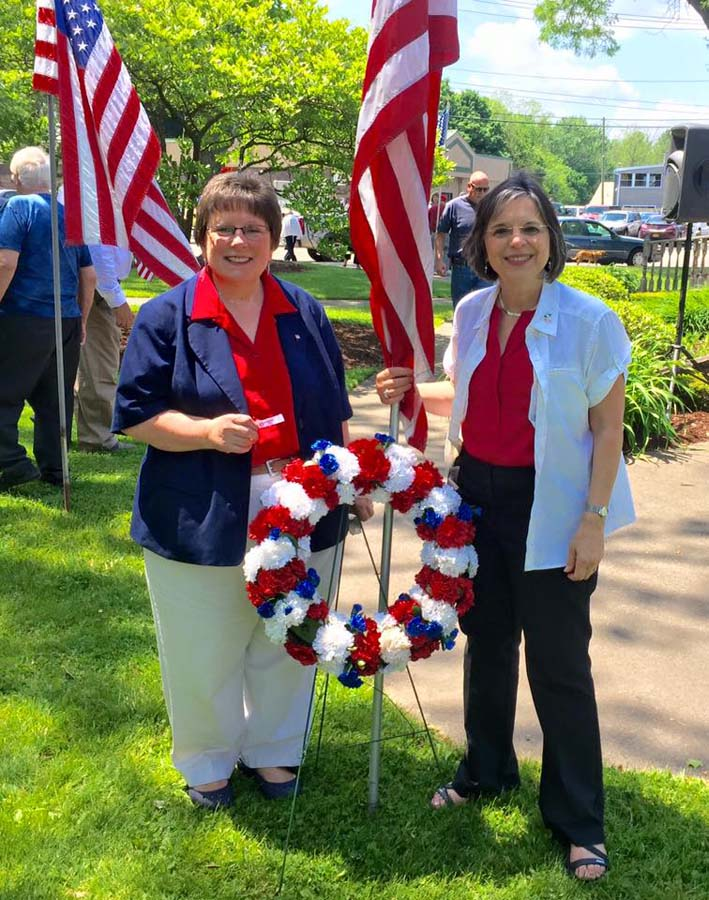 May 30, 2016 � Town of Vestal Councilwoman and Assemblywoman Lupardo at a Memorial Day ceremony in Vestal.