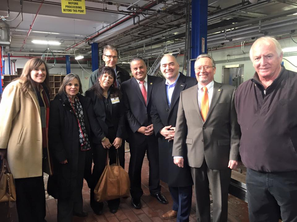 December 21, 2016 – Assemblywoman Lupardo joins Commissioner of Agriculture & Markets Richard Ball, Senator Akshar, Mayor David, Chamber of Commerce President Jennifer Conway, Broome CCE Executive
