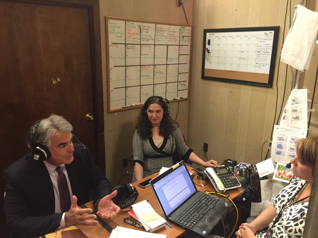 "Assemblyman Stirpe sat down with host Susan Arbetter on ""The Capitol Pressroom"" to discuss the issue of rising opioid addiction in our communities. They discussed his bill, A9211, which woul"