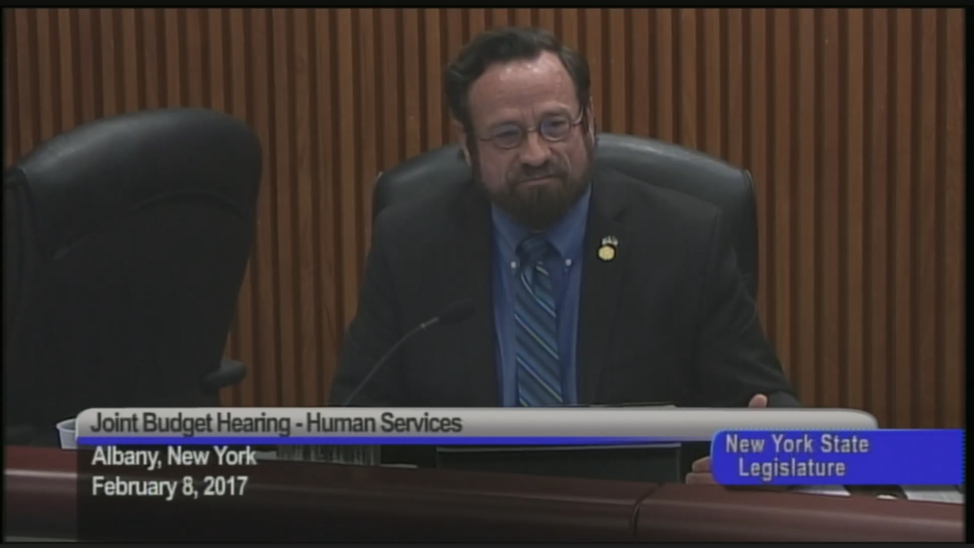 Assembly-Senate Budget Hearing on Funding for Social Services
