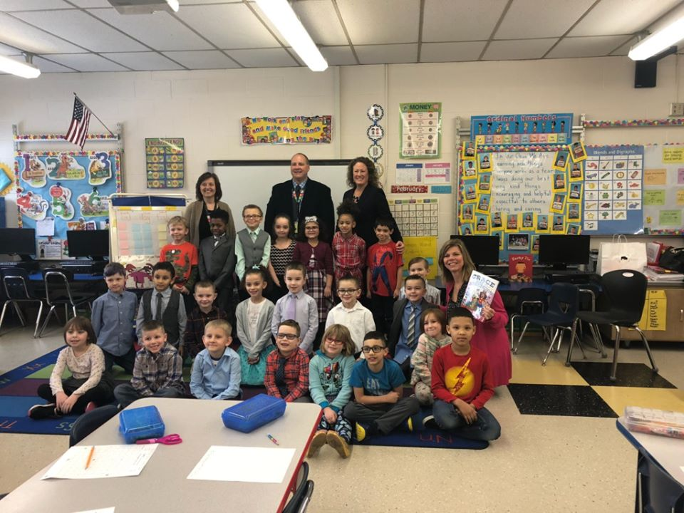 """It was my pleasure to read to the students of Mrs. Potienko's first-grade class at Theodore Roosevelt Elementary School today for the Teach a Girl to Lead Reading Program. I read"